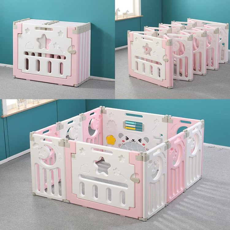 Baby Safety Playpen Pink - iKids