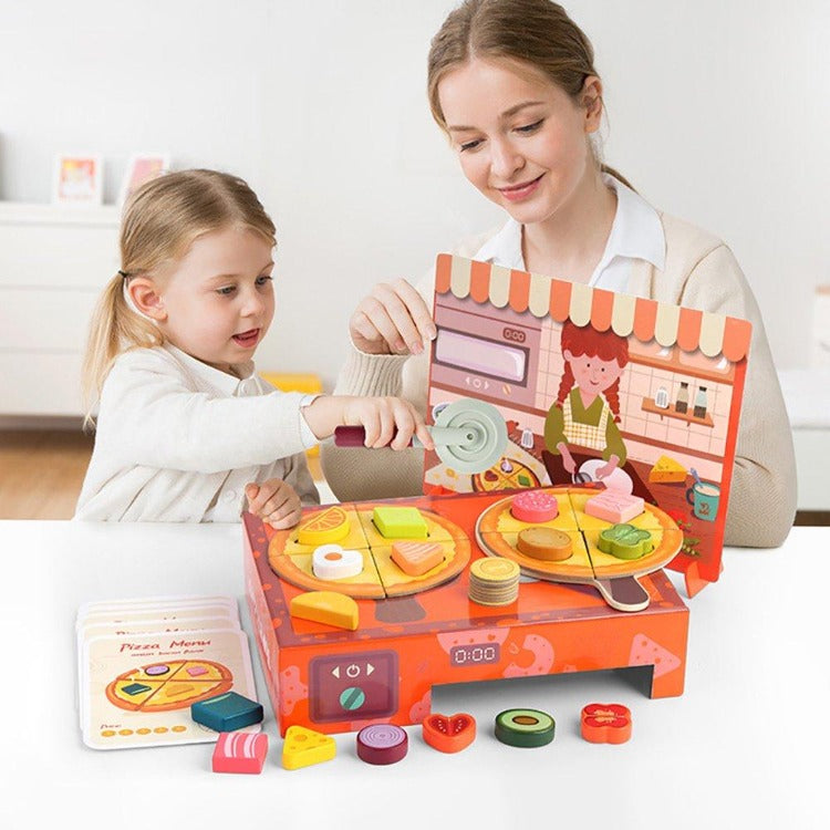 TopBright Kitchen Pizza Toy Set - iKids