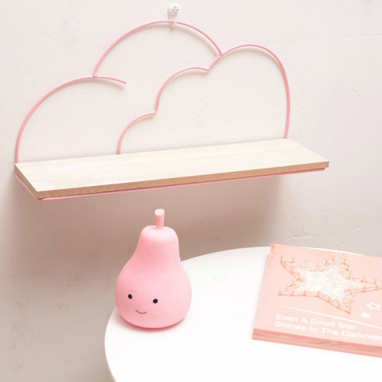 Pink Cloud Iron Wall Shelf - iKids