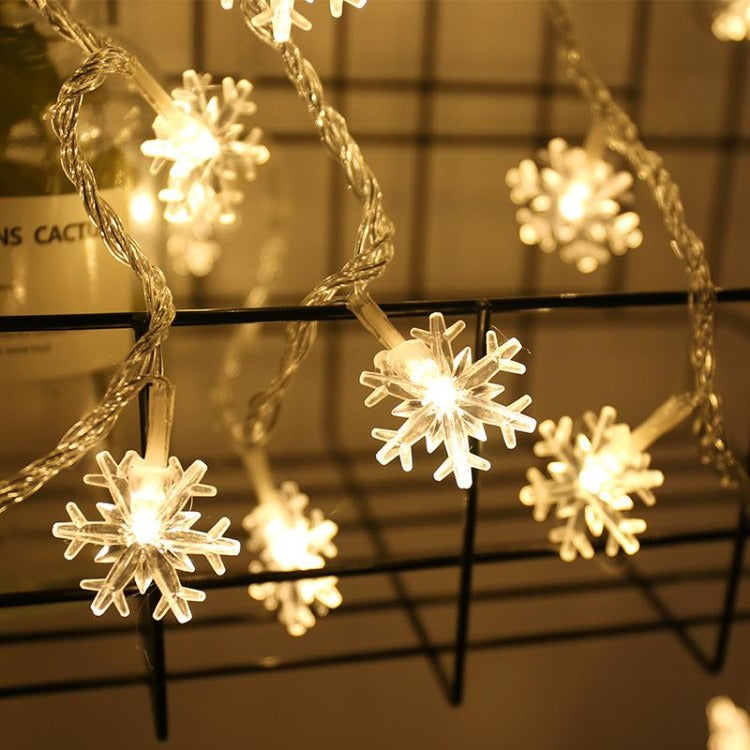 3m 20 LEDs Snowflake Battery String Lights - iKids