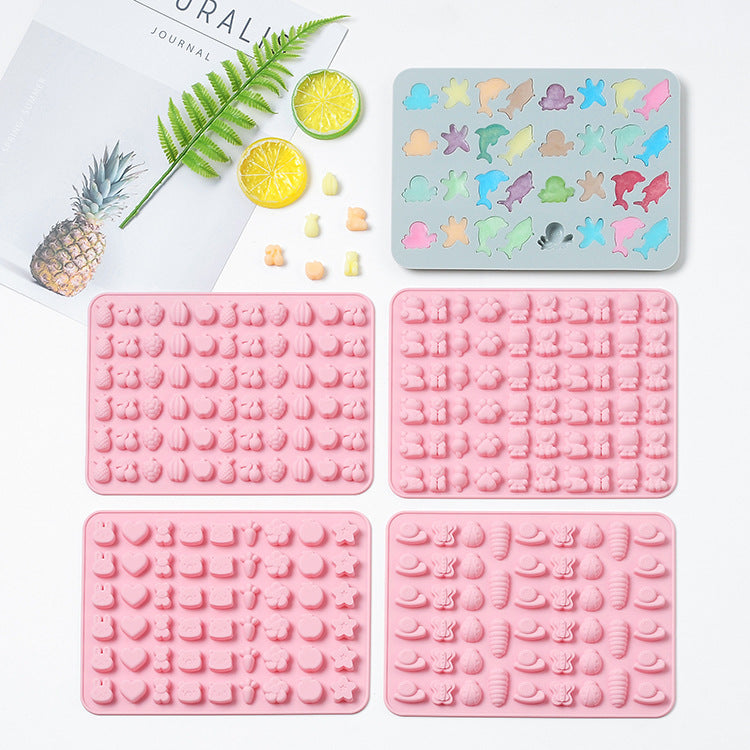 Baby Food Silicone Mold Mini Animal - iKids