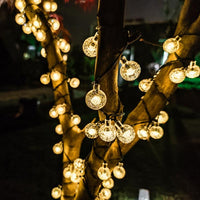 LED Outdoor Solar Globe String Lights 12M - iKids