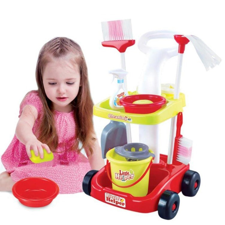 Housekeeping Cleaning Toy Set - iKids