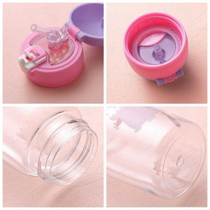 Pink Deer Water Bottle - iKids