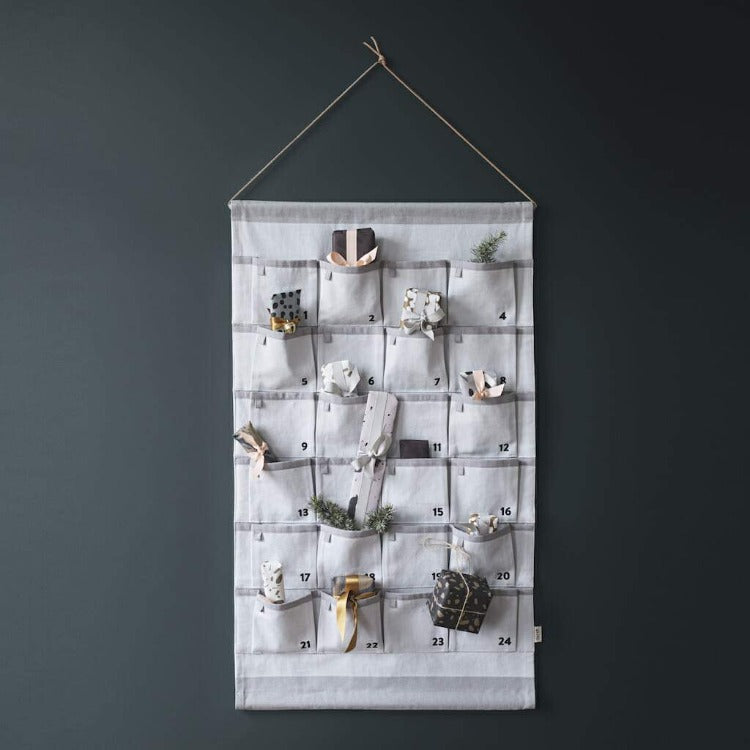 Grey Canvas Advent Calendar - iKids