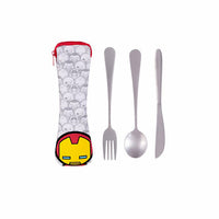 Cutlery Set Iron Man - iKids