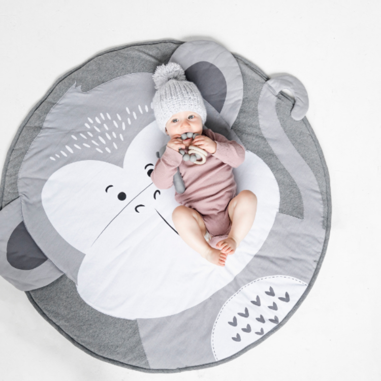 Forest Play Mat Monkey - iKids