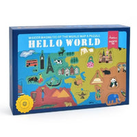Mideer Magnetic Puzzle Hello World  - iKids