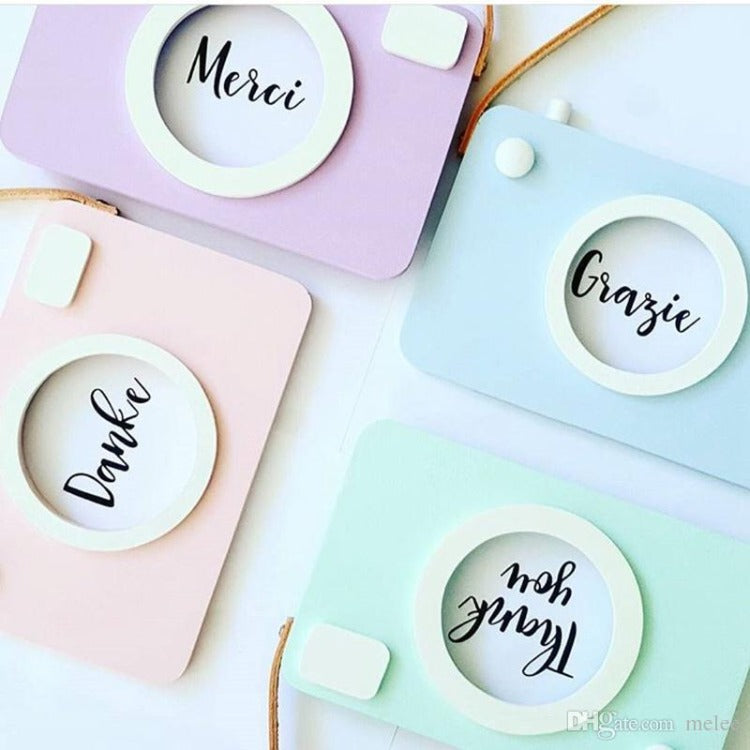 Camera Photo Frame Blue - iKids