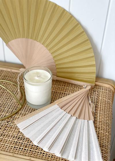 The Beach People - Linen Fan