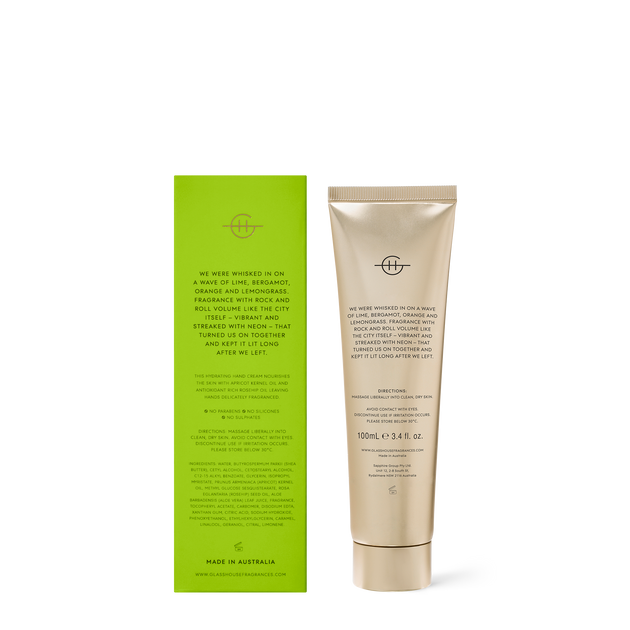 GLASSHOUSE HAND CREAM - WE MET IN SAIGON - 100ml