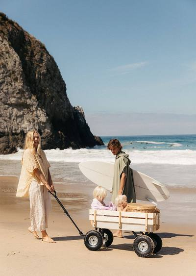 The Beach People - Beach Cart - Stone