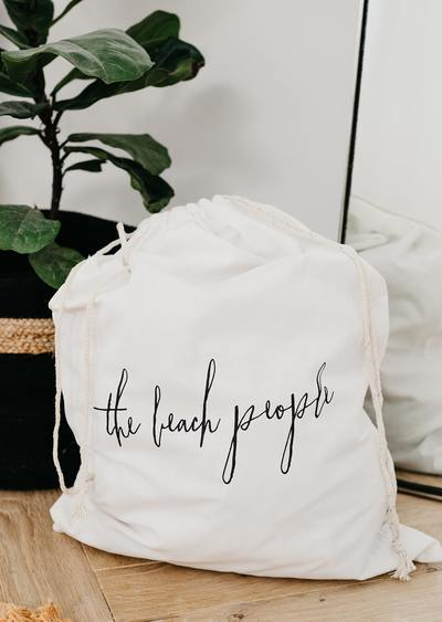 The Beach People - Cotton Laundry Bag