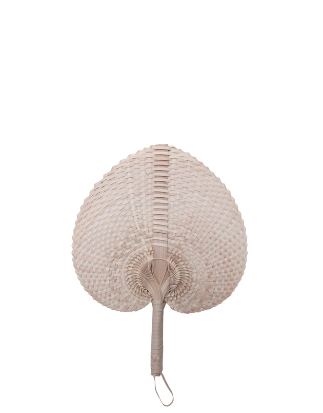 Natural Palm Fan - Small