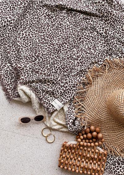The Beach People - Amur Leopard Travel Towel - Due to come back - ETA to follow