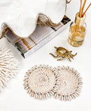 Cowrie Shell Coasters & Placemats