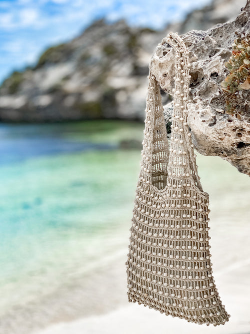 Wanderer Beaded Bag