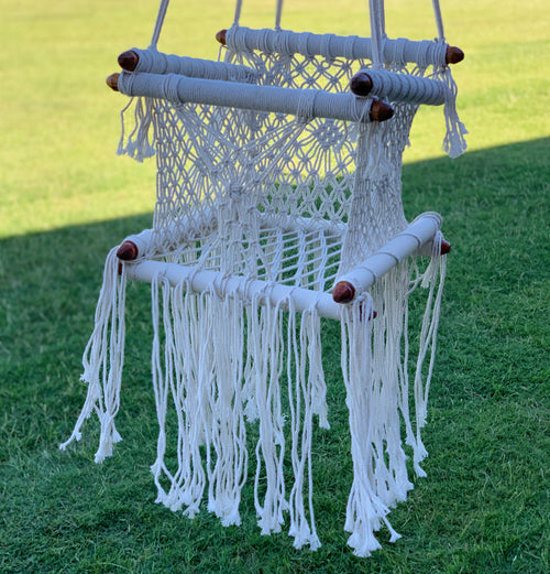 Macrame Baby Chair/Swing