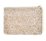 Beaded Purse - Natural