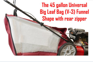 The full Snap Button Installation the mouth of The Universal Big Leaf Bag V-3 by Abletotech Corp