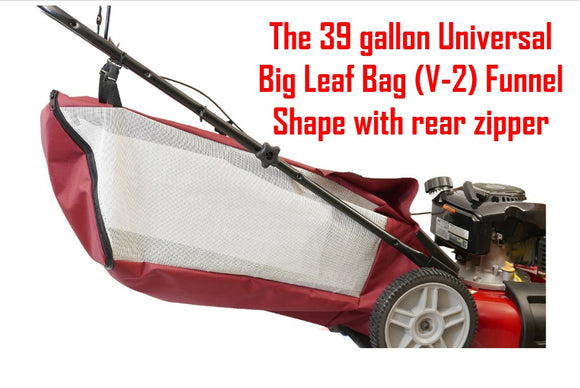The full Snap Button Installation the mouth of The Universal Big Leaf Bag V-2 by Abletotech Corp