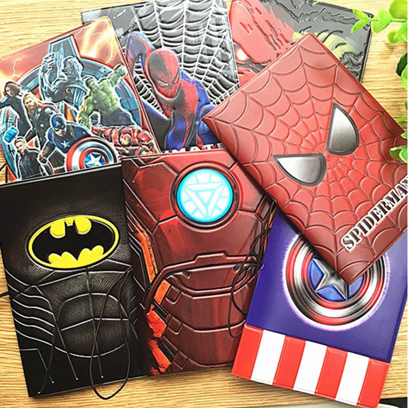 2016 Fashion Cool Cartoon 3D Passport Cover Men PVC Leather Travel