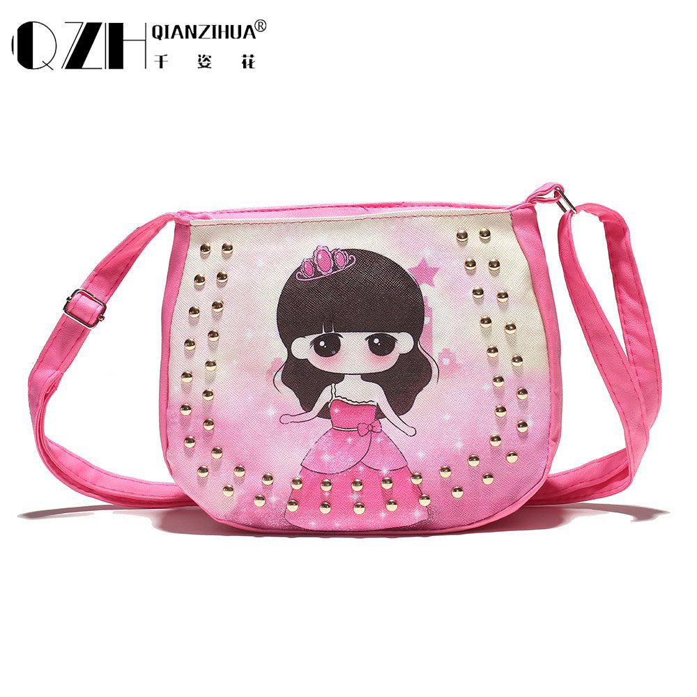 2016 Candy Color Fashion Bag Accessories Kids chic Handbags Children