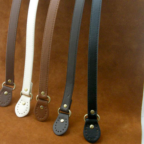 1 Pair Women's Fashion Pu Leather DIY Long Handle Bag Strap 9 Styles Shoulder Strap Bag for Purse Buck Holder Accessories WS075