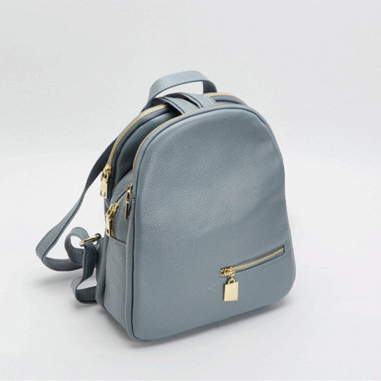 2017 Fashion Brand Women Backpack Genuine Leather Small Backpacks