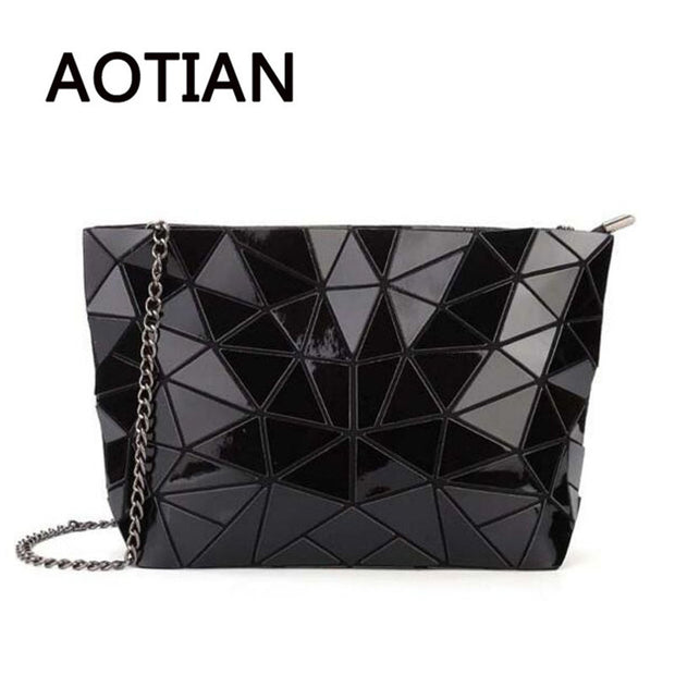 2017 Hologram Women Clutch Laser BAOBAO Bags Casual Tote Fashion