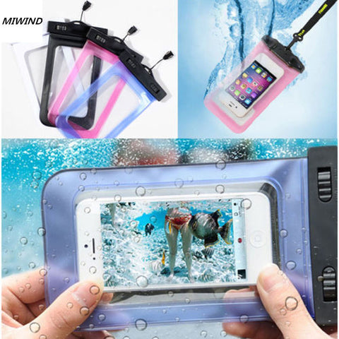 1 piece Trendy Waterproof Dry Bag Underwater Case Cover four colours