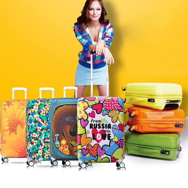Luggage Cover Protector Suitcase Covers with High Quality Fashion