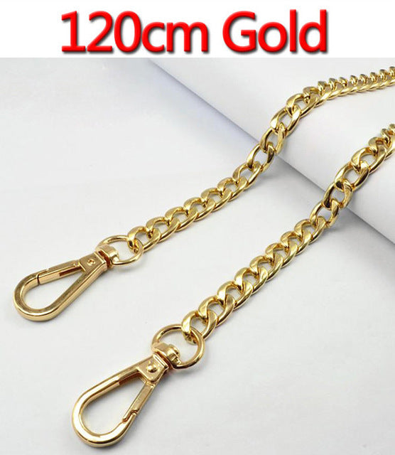 120cm (DIY 60cm-140cm) Gold, Silver, Gun Black, Bronze 9mm Metal