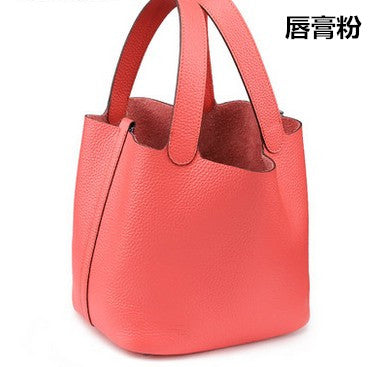 100% Genuine Leather Guaranteed Cowhide Women Handbag Brand Lady
