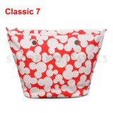 1 Piece Colourful Cute Cartoon Insert Lining Inner Pocket for