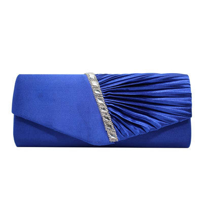 2016 New Diamond Silk Elegant Evening Bag Lady Three-dimensional
