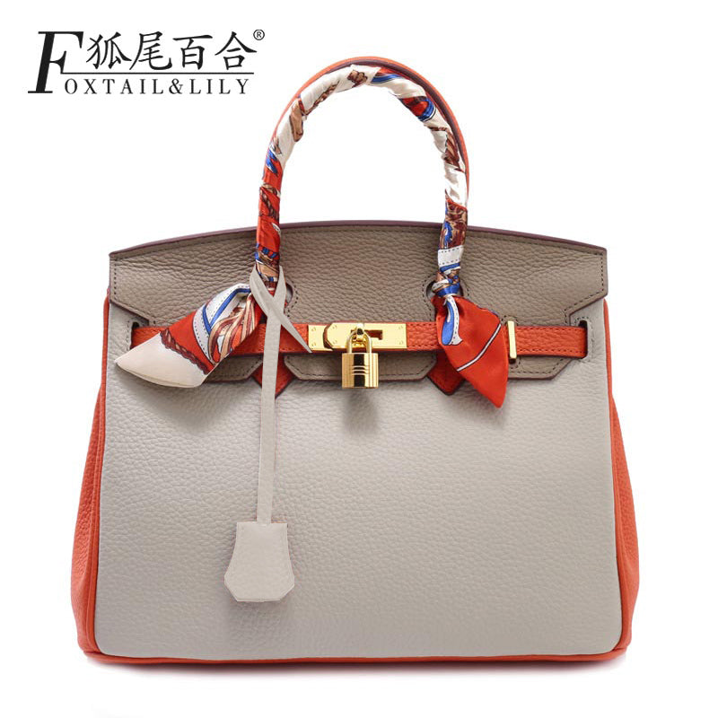 2016 New Fashion Cross body Bag Genuine Leather Brand Handbag Soft