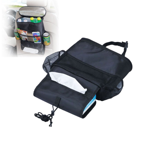 1 PCS Portable Picnic Bag Cold Insulation Heat Preservation Lunch Bags Cooler Multi-Purpose Car Seat Outdoors Storage Bag