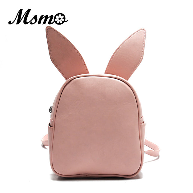 MSMO Small Backpack with Three Pairs of Ears Can Replace the Small