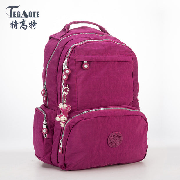 TEGAOTE Backpack Women Fashion Schoolbag Backpacks for Teenage Girls