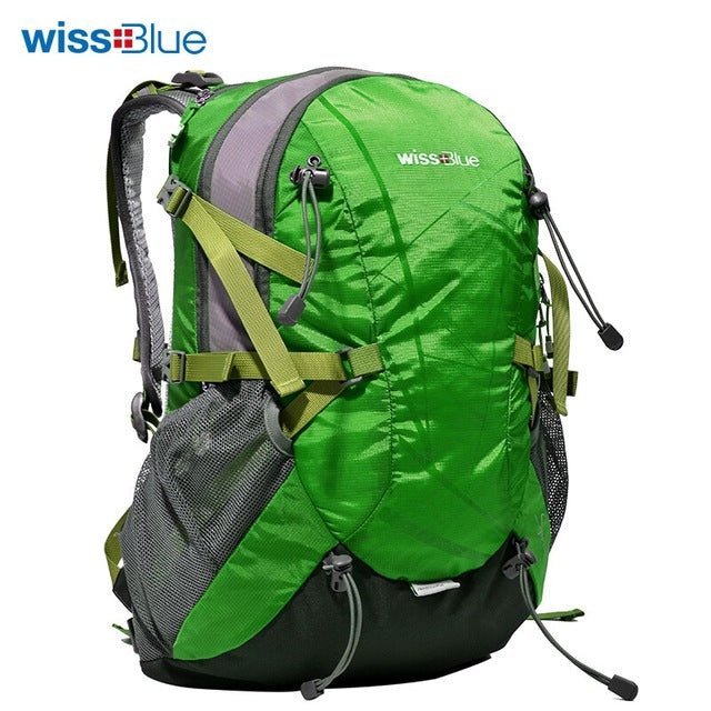 7b72a7490b WissBlue Hiking Backpack Travel Daypack Outdoor Sports Waterproof ...
