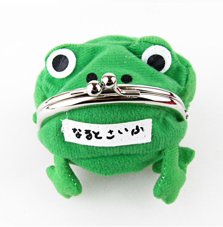 2016 Anime Cartoon Wallet Coin Purse Originality Fashion Frog Wallet