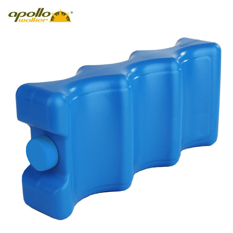 2016 new HDPE Ice water single face double face wave type ice box