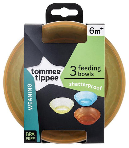 Tommee Tippee HK Sale Value Bowls 3 pcs