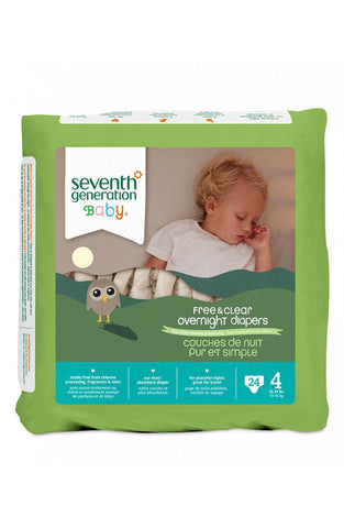 Seventh Generation Overnight Diaper Stage 4