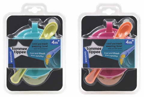 Tommee Tippee 香港 TT  研磨餵食碗Cool & Mash Weaning Bowl