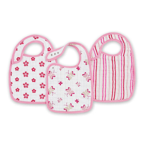 Aden Anais 香港限定優惠 Princess Posie Nibble Snap Bibs