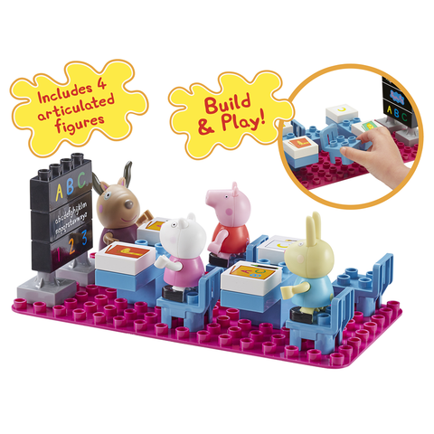Peppa Pig HK Sale Construction Classroom Set