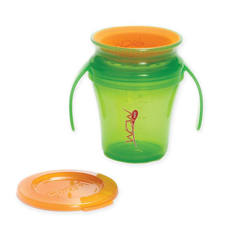 Wow Cup HK Sale:  Translucent Spill Free Training Cups Green