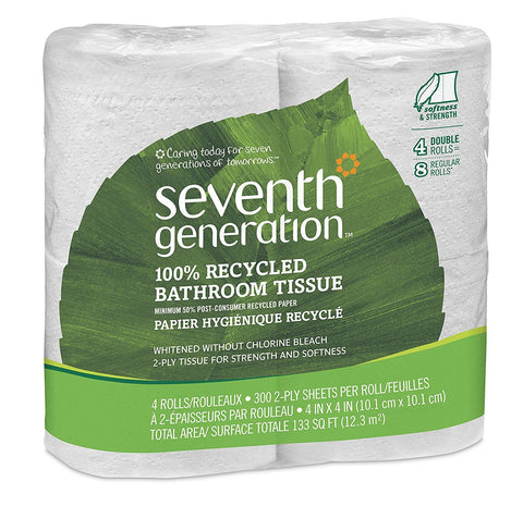 Seventh Generation Bathroom Tissue 4 rolls